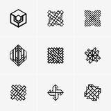 Modern Abstract Vector Logo Or Element Design. Best For Identity And Logotypes. Stock Photo