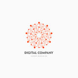 Modern Abstract Vector Logo Or Element Design. Best For Identity And Logotypes. Simple Shape. Stock Photography