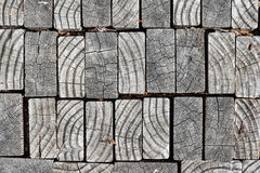 Modern abstract wooden pavement Stock Images