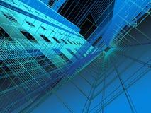 modern abstrakt arkitektur Arkivfoto