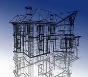 modern abstrakt arkitektur Arkivbild