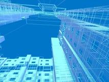 modern abstrakt arkitektur Royaltyfria Bilder