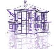 modern abstrakt arkitektur Royaltyfri Foto