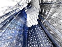modern abstrakt arkitektur Royaltyfria Foton