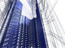 modern abstrakt arkitektur Fotografering för Bildbyråer