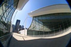 modern abstrakt arkitektur Arkivfoton