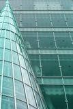 modern abstrakt byggnad arkivbild
