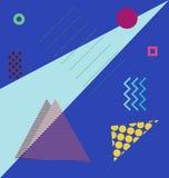 Modern abstrakt designaffisch Royaltyfri Foto