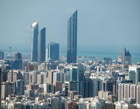 Modern Abu Dhabi UAE Royalty Free Stock Photo