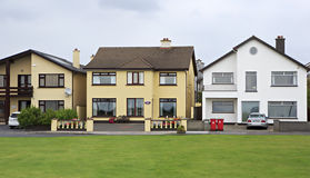 Modern accommodation on the outskirts of town Royalty Free Stock Photos