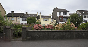 Modern accommodation on the outskirts of town Royalty Free Stock Photo