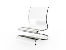 Modern Acrylic Chair 2 Stock Photography