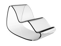 Modern Acrylic Chair 3 Stock Images