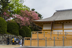 Modern addition in the Nagoya castle in Japan Royalty Free Stock Photography