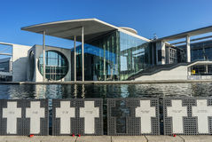 Modern administrationsbyggnad, Berlin Arkivfoton
