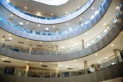 modern affärscentrum Royaltyfri Fotografi
