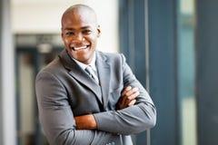 Modern african businessman Stock Photo