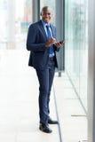 Modern african businessman Royalty Free Stock Photos