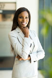 Modern african businesswoman Royalty Free Stock Photo
