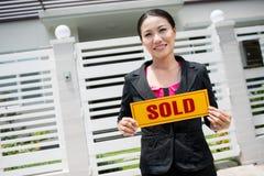 Modern agent Royalty Free Stock Photo