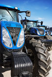 Modern agricultural machinery Stock Photos