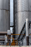Agricultural silo outdoors Royalty Free Stock Photo