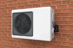 Modern air conditioner Stock Photos