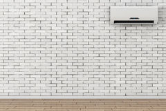 Modern Air Conditioner. 3d Rendering Royalty Free Stock Image