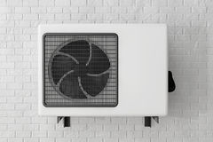 Modern Air Conditioner Stock Image
