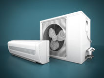 Modern air conditioner Royalty Free Stock Photo