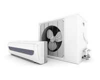 Modern air conditioner Royalty Free Stock Image