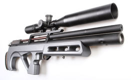 Modern air gun with sight Stock Images