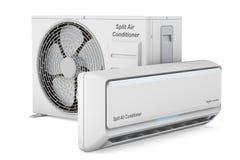 Modern airconditionersysteem royalty-vrije illustratie