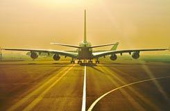 Modern aircraft Royalty Free Stock Photo