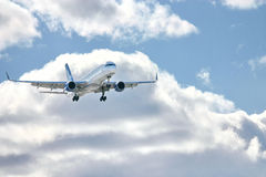 Modern airplane Royalty Free Stock Photography