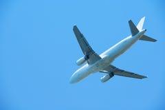 Modern airplane Stock Photos