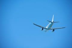 Modern airplane Stock Photography