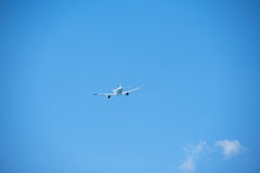 Modern airplane Royalty Free Stock Photo