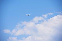 Modern airplane Royalty Free Stock Photos