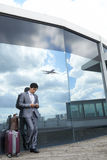 At modern airport Royalty Free Stock Photography