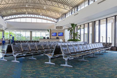 Modern Airport Gate Area Stock Photo