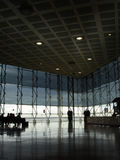 Modern airport hall Stock Photos