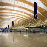 Modern airport hall Royalty Free Stock Photos