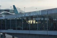 Modern Airport Stock Image