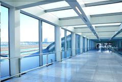 Modern airport interior royalty free stock images