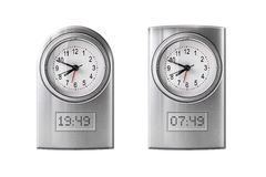 Modern alarm clock Stock Images