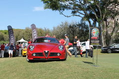 Modern alfa at event Royalty Free Stock Photos