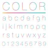 Modern Alphabet (lowercase) Stock Image