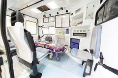 Modern ambulans Royaltyfria Bilder