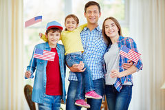 Modern Americans Royalty Free Stock Photo